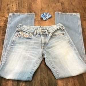 Disel Industries Light Wash Jeans Made in Italy 27